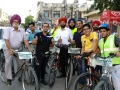 Punjab Bikers Club and Eye Donation Association Cycle Rally