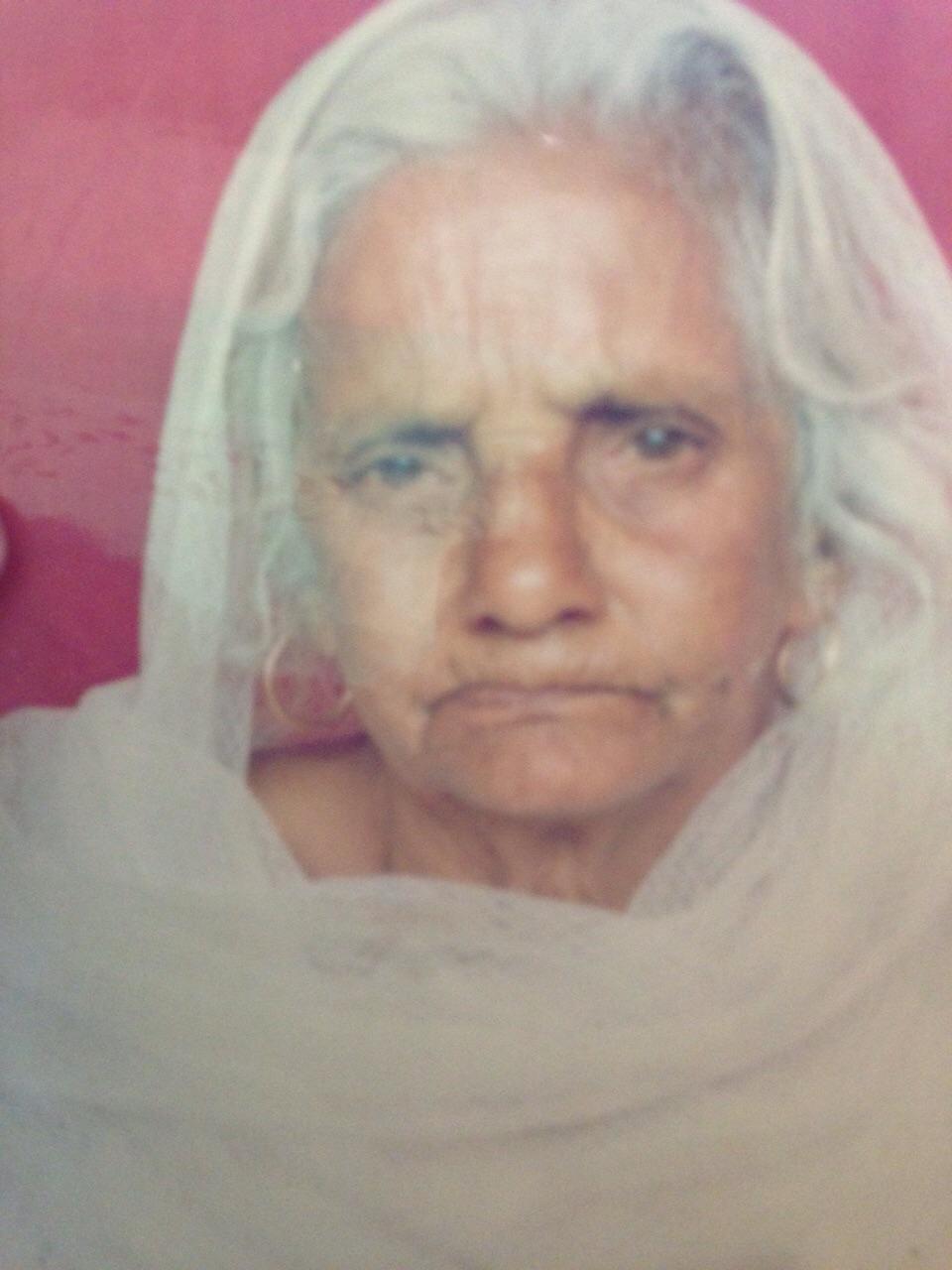Eyes Donation Janki Devi from Una