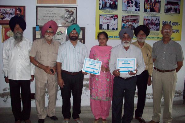 Eyes Donation Lachman Singh